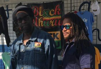 A bull session at the beach with Black Uhuru's Andrew Bees