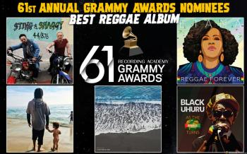 The new Black Uhuru Album is Nominated For Grammy